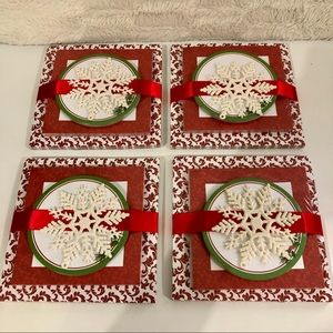 FOUR SETS OF CHRISTMAS NOTEPADS
